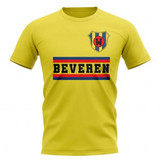 Waasland-beveren Core Football Club T-Shirt (Yellow)