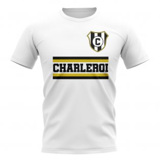 Royal Charleroi Sporting Club Core Football Club T-Shirt (White)