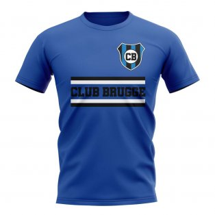 Club Brugge Core Football Club T-Shirt (Royal)