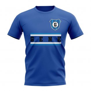Genk Core Football Club T-Shirt (Royal)