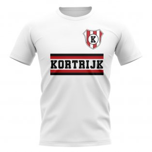 Kortrijk Core Football Club T-Shirt (White)