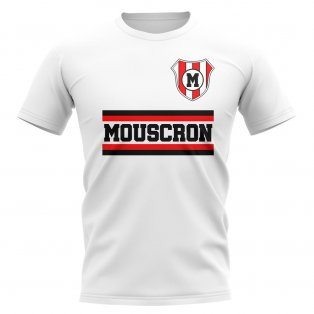 Royal Excel Mouscron Core Football Club T-Shirt (White)