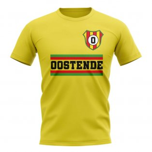 Oostende Core Football Club T-Shirt (Yellow)