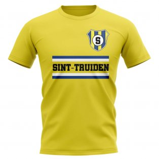 Sint-truiden Core Football Club T-Shirt (Yellow)