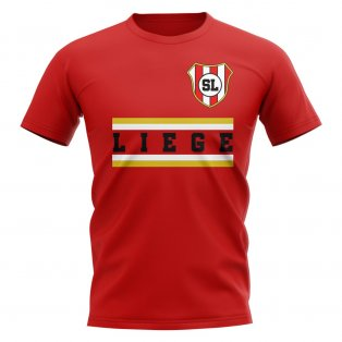Standard Liege Core Football Club T-Shirt (Red)