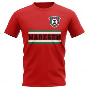 Zulte Waregem Core Football Club T-Shirt (Red)