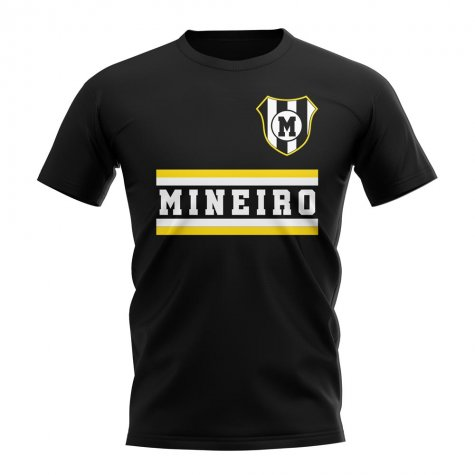 Atlético Mineiro Core Football Club T-Shirt (Black)