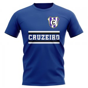 Cruzeiro Core Football Club T-Shirt (Royal)