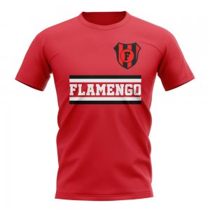 Flamengo Core Football Club T-Shirt (Red)