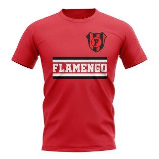 9c9b3d940a1 Flamengo Core Football Club T-Shirt (Red)