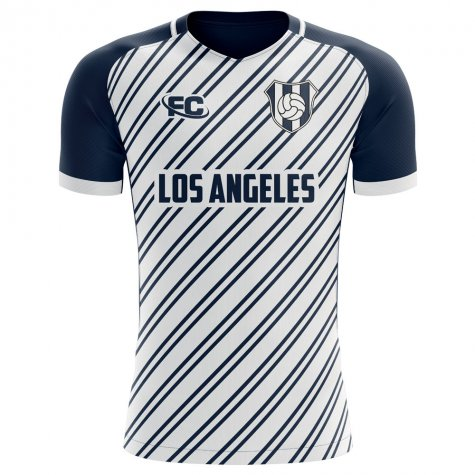 2019-2020 LA Los Angeles Home Concept Football Shirt - Little Boys