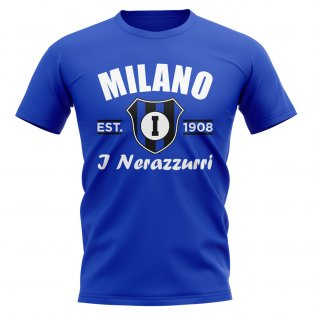 Inter Milan Established Football T-Shirt (Royal)