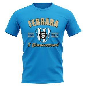 Spal Established Football T-Shirt (Sky Blue)