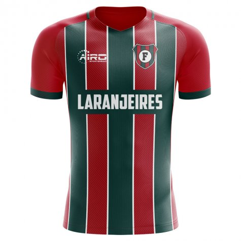2019-2020 Fluminense Home Concept Football Shirt - Kids