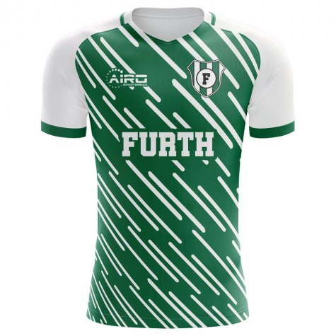 2019-2020 Greuther Furth Home Concept Football Shirt - Womens