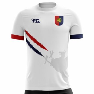2018-2019 Genoa Fans Culture Away Concept Shirt - Little Boys