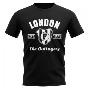 Fulham Established Football T-Shirt (Black)