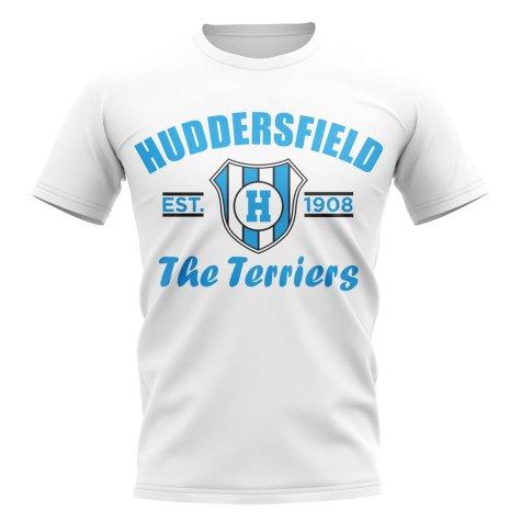 Huddersfield Established Football T-Shirt (White)