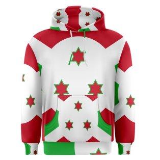 Burundi Sublimated Flag Hoody