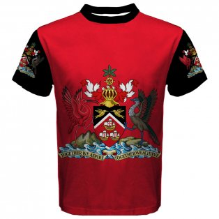 Trinidad and Tobago Coat of Arms Sublimated Sports Jersey