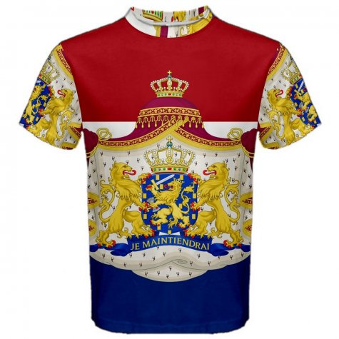 Netherlands Coat of Arms Sublimated Sports Jersey - Kids