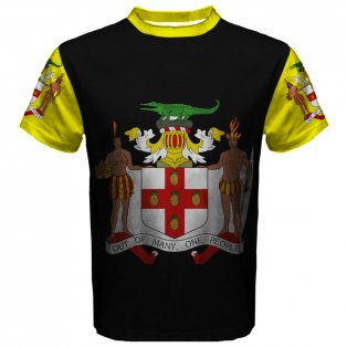 Jamaica Coat of Arms Sublimated Sports Jersey
