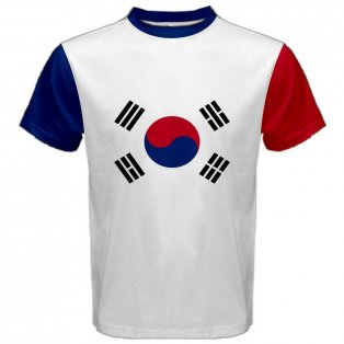 South Korea Coat of Arms Sublimated Sports Jersey