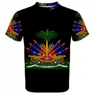 Haiti Coat of Arms Sublimated Sports Jersey