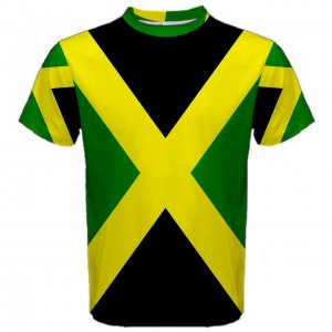 Jamaica Flag Sublimated Sports Jersey