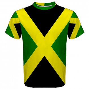 Jamaica Flag Sublimated Sports Jersey - Kids