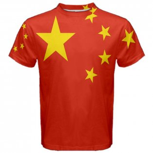China Chinese Flag Sublimated Sports Jersey
