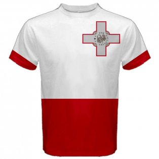Malta Maltese Flag Sublimated Sports Jersey