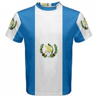 Guatemala Flag Sublimated Sports Jersey
