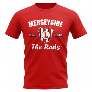 Liverpool Established Football T-Shirt (Red)