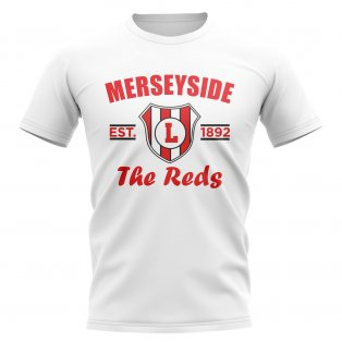 Liverpool Established Football T-Shirt (White)