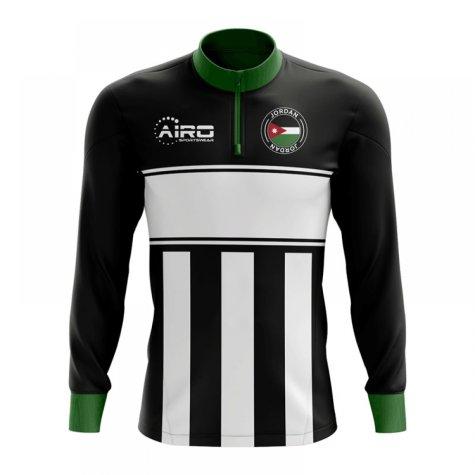 Jordan Concept Football Half Zip Midlayer Top (Black-White)