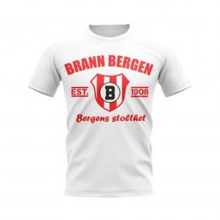 Brann Bergen Established Football T-Shirt (White)