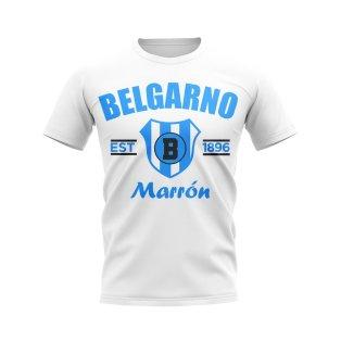 Belgrano de Cordoba Established Football T-Shirt (White)