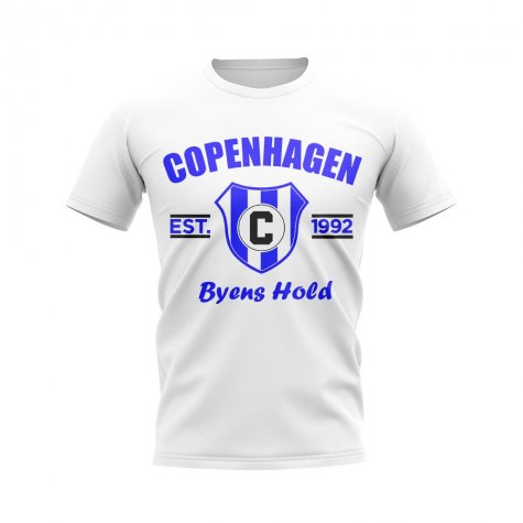 Copenhagen Established Football T-Shirt (White)