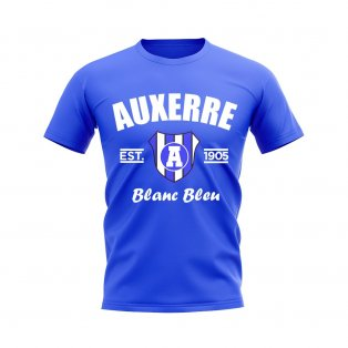 Auxerre Established Football T-Shirt (Royal)
