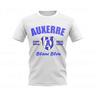 Auxerre Established Football T-Shirt (White)
