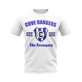 Cove Rangers Established Football T-Shirt (White)