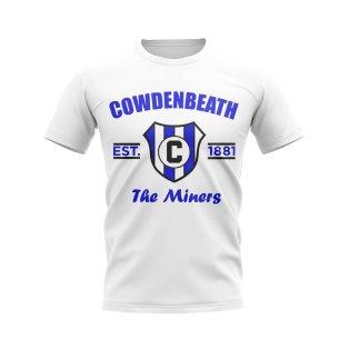Cowdenbeath Established Football T-Shirt (White)