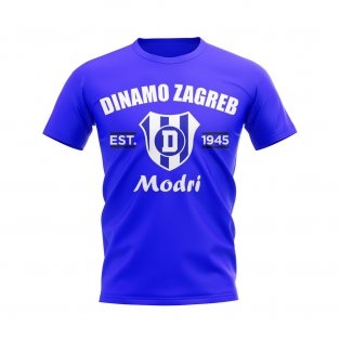 Dinamo Zagreb Established Football T-Shirt (Blue)