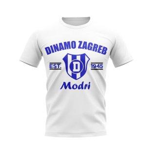 Dinamo Zagreb Established Football T-Shirt (White)