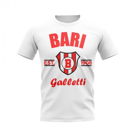Bari Established Football T-Shirt (White)