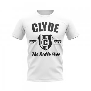 Clyde Established Football T-Shirt (White)