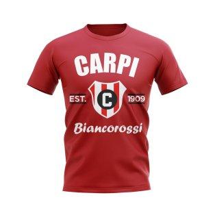 Carpi Established Football T-Shirt (Red)