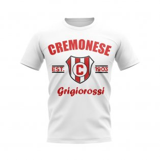 Cremonese Established Football T-Shirt (White)