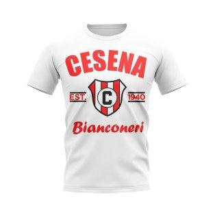 Cesena Established Football T-Shirt (White)